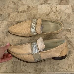 Just cavalli leather loafers